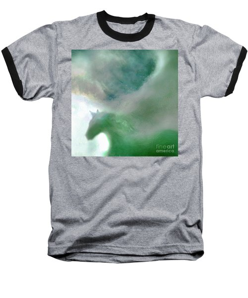 Baseball T-Shirt featuring the photograph Sea Glass Storm by Michael Rock