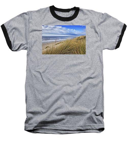 Sea Grass And Sand Dunes Baseball T-Shirt