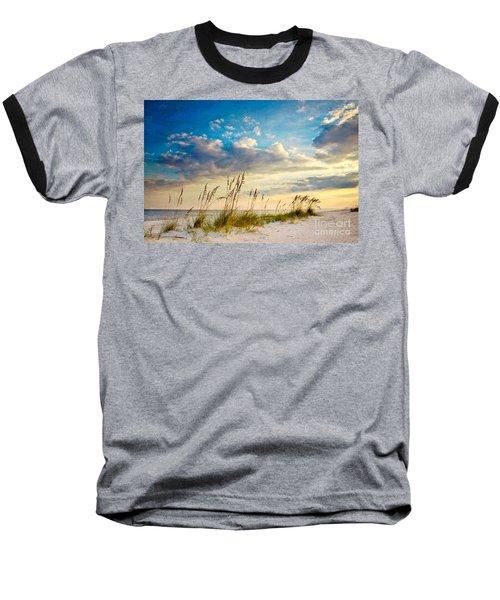 Sea Oats Sunset Baseball T-Shirt