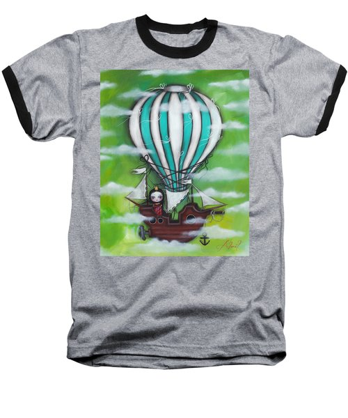 Sea Of Clouds Baseball T-Shirt by Abril Andrade Griffith