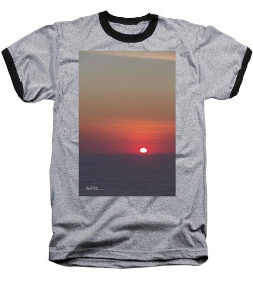 Sea Of Clouds Sunset Baseball T-Shirt