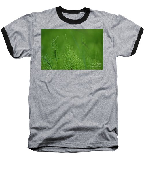 Baseball T-Shirt featuring the photograph Sea Of Green by Bianca Nadeau