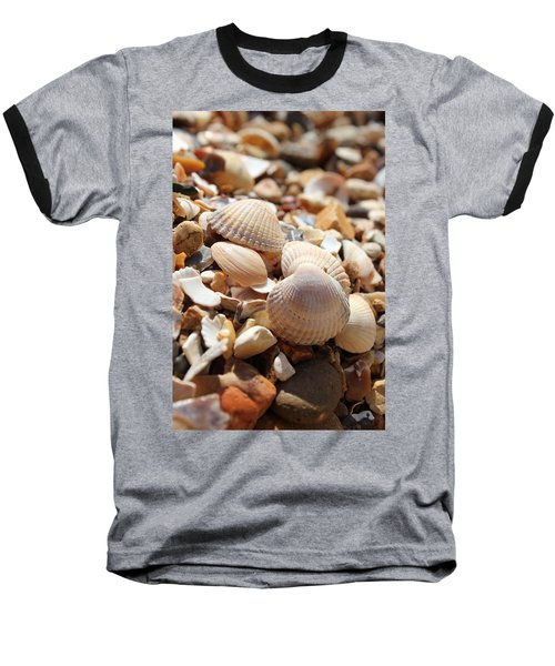 Sea Shells Baseball T-Shirt