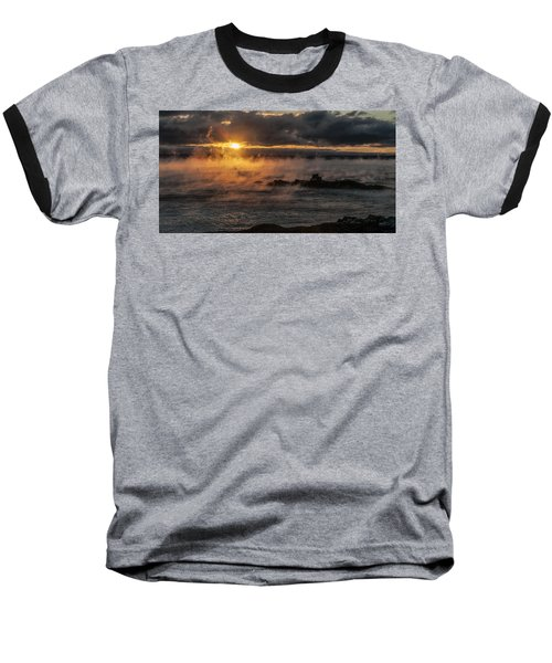 Sea Smoke Sunrise Baseball T-Shirt