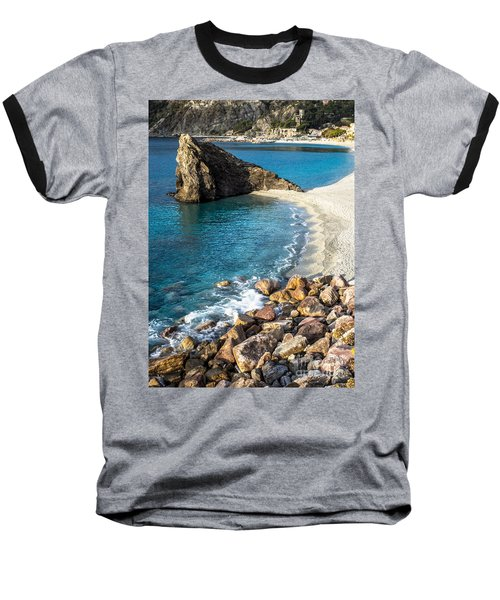 Sea Stack Of Monterosso Baseball T-Shirt