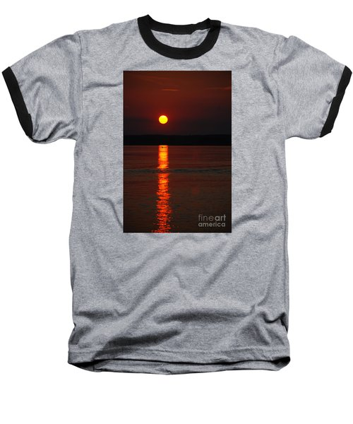 Seabrook Sunset Baseball T-Shirt