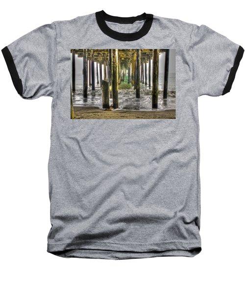 Seacliff Pier Baseball T-Shirt