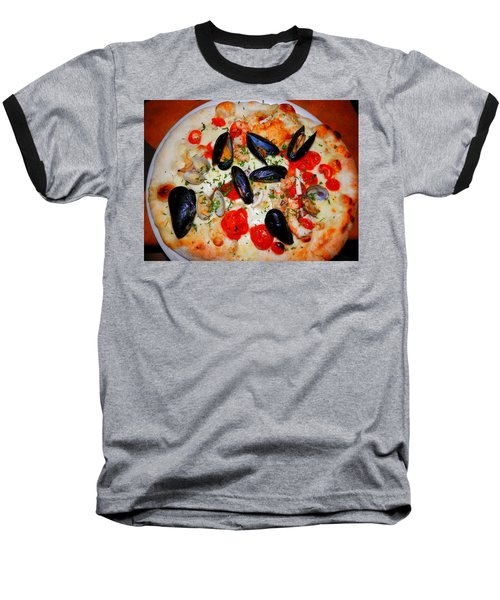 Seafood Pizza Baseball T-Shirt