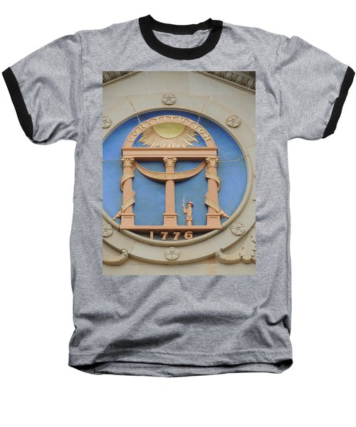 Baseball T-Shirt featuring the photograph seal of Georgia by Aaron Martens