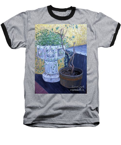 Sean's Planter Baseball T-Shirt by Brenda Brown