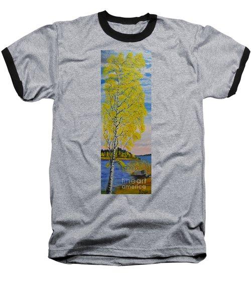 Seascape From Baltic Sea Baseball T-Shirt