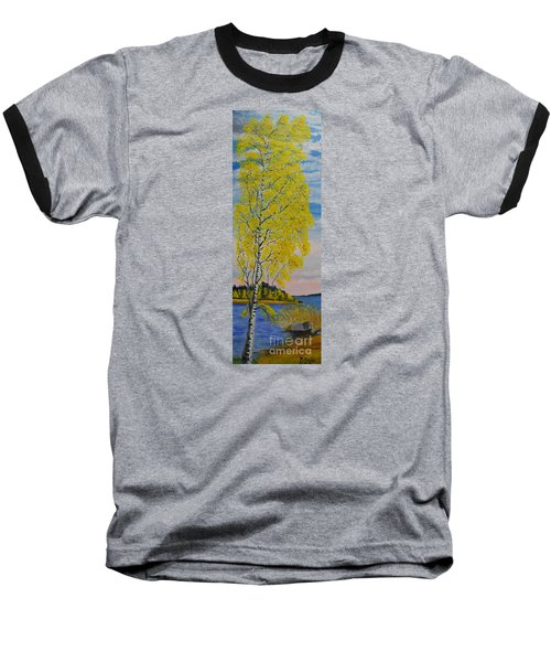 Seascape From Baltic Sea Baseball T-Shirt