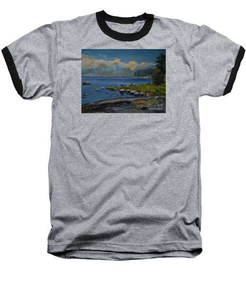 Seascape From Hamina 2 Baseball T-Shirt