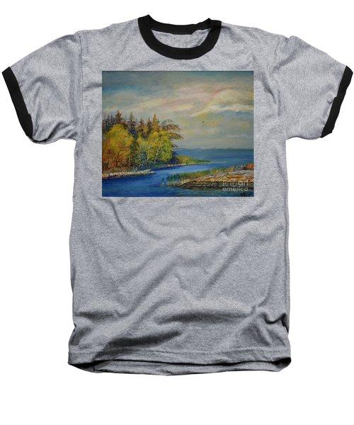 Seascape From Hamina 3 Baseball T-Shirt
