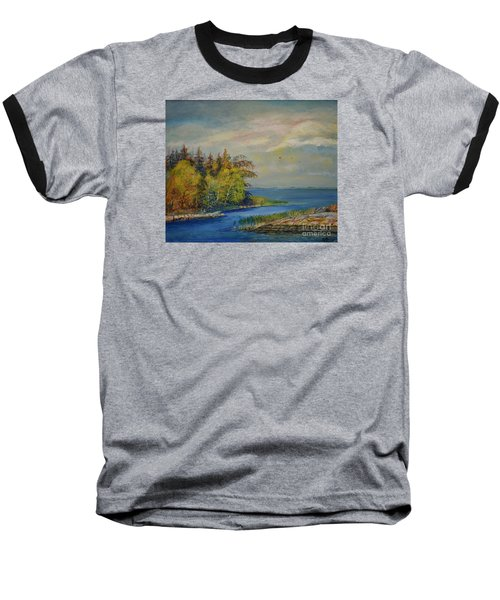 Seascape From Hamina 3 Baseball T-Shirt