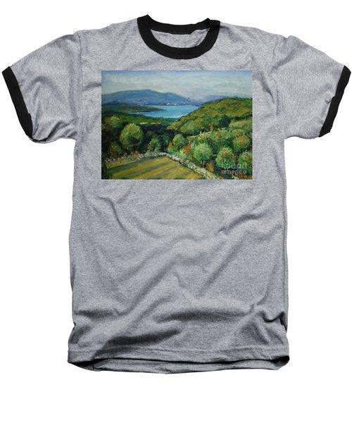 Seascape From Kavran Baseball T-Shirt