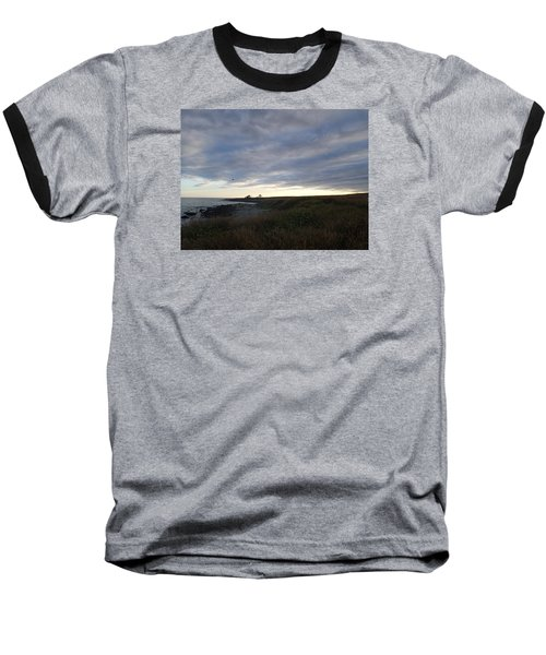 Baseball T-Shirt featuring the photograph Seascape by Robert Nickologianis