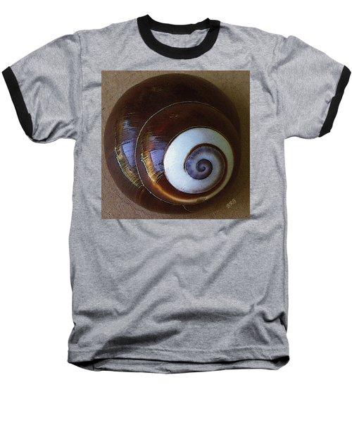 Seashells Spectacular No 26 Baseball T-Shirt by Ben and Raisa Gertsberg