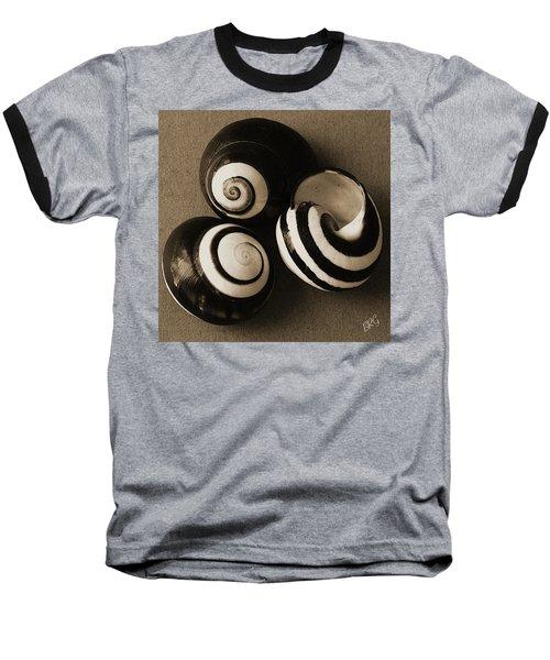 Seashells Spectacular No 27 Baseball T-Shirt by Ben and Raisa Gertsberg