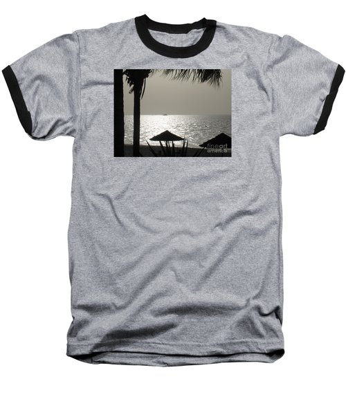 Baseball T-Shirt featuring the photograph Seaside Dinner For Two by Patti Whitten