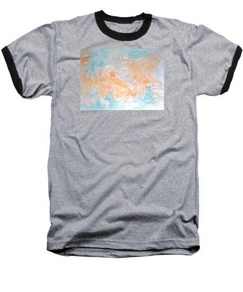 Seaside In Summer Baseball T-Shirt by Esther Newman-Cohen
