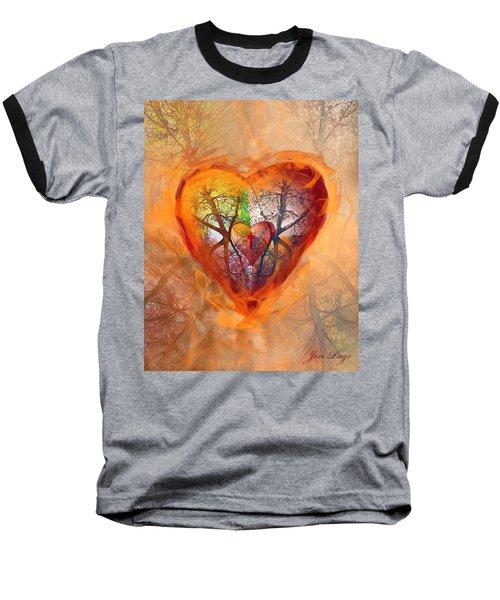 Season Of The Heart Baseball T-Shirt