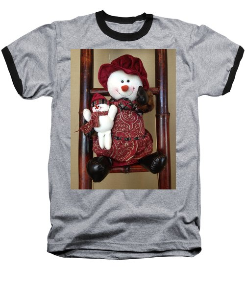 Seasons Greetings Baseball T-Shirt