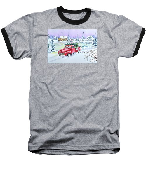 Winter Season Baseball T-Shirt