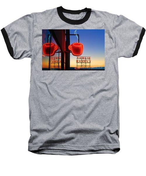 Seattle Coffee Baseball T-Shirt