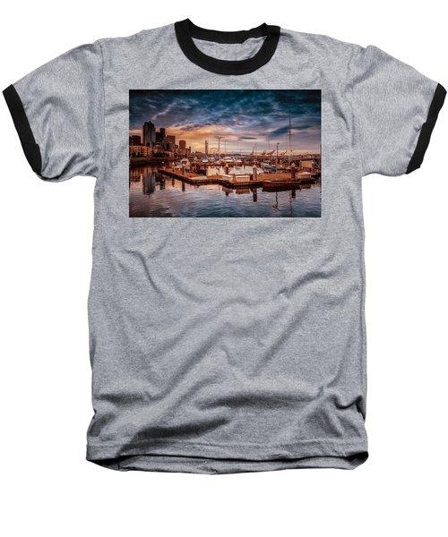 Seattle Marinescape. Baseball T-Shirt