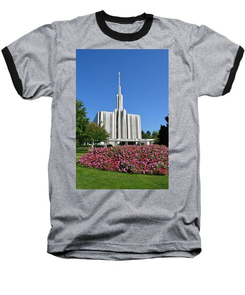 Seattle Temple Baseball T-Shirt