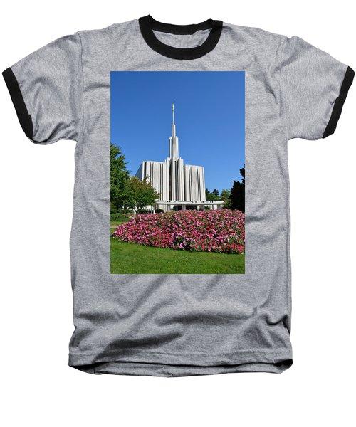 Seattle Temple Baseball T-Shirt