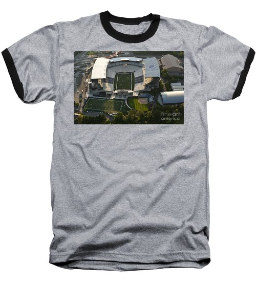 Seattle With Aerial View Of The Newly Renovated Husky Stadium Baseball T-Shirt