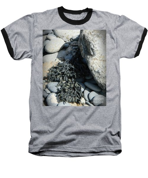Seaweed And Rocks  Baseball T-Shirt