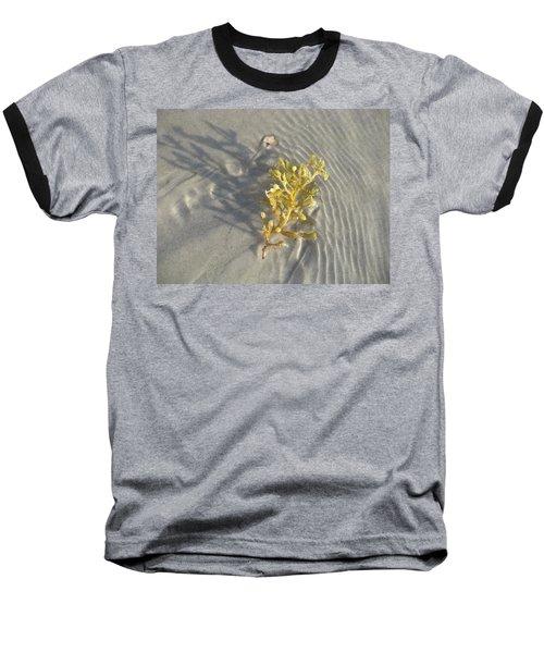 Seaweed Sand Baseball T-Shirt
