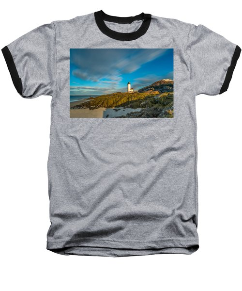 Seaweed Swagger And Time Traveling Clouds  At Annisquam Harbor L Baseball T-Shirt