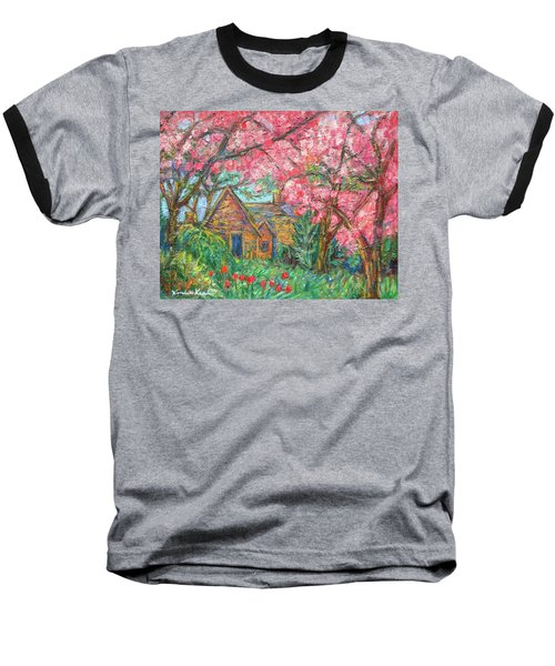 Secluded Home Baseball T-Shirt by Kendall Kessler