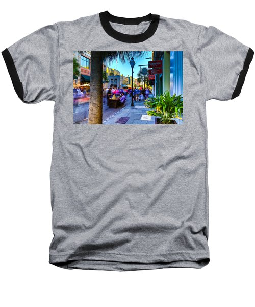 Second Sunday On King St. Charleston Sc Baseball T-Shirt