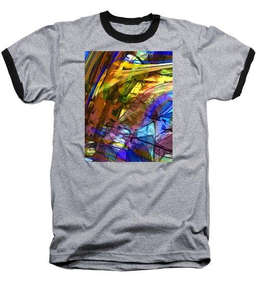 Secret Animal Baseball T-Shirt by Richard Thomas