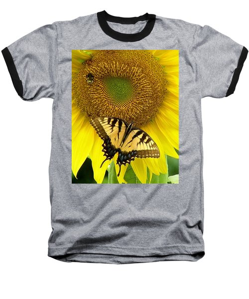 Secret Lives Of Sunflowers Baseball T-Shirt
