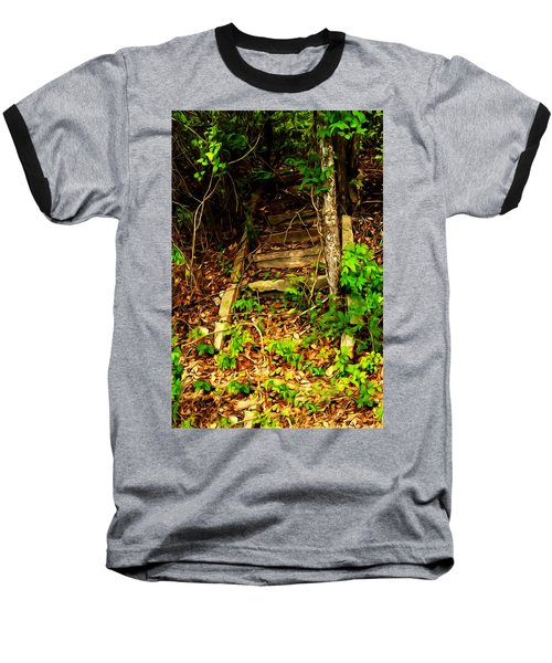 Secret Stairway Baseball T-Shirt