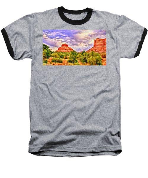 Sedona Arizona Bell Rock Vortex Baseball T-Shirt