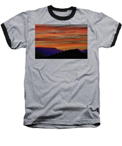 Sedona Az Sunset 2 Baseball T-Shirt by Ron White