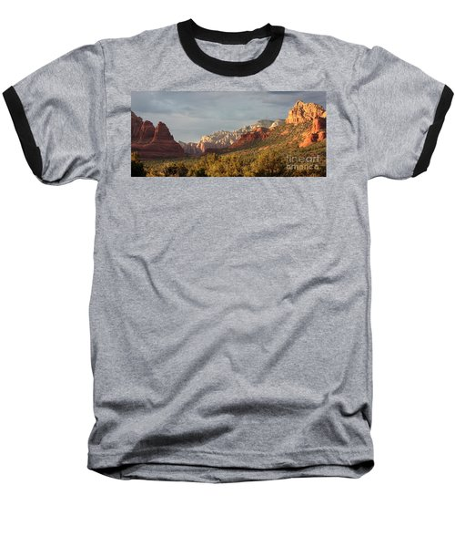 Sedona Sunshine Panorama Baseball T-Shirt