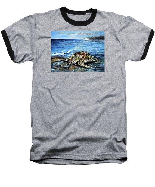 See Weed Turtle Baseball T-Shirt