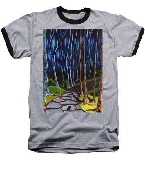 Seeking A Shadow  Baseball T-Shirt