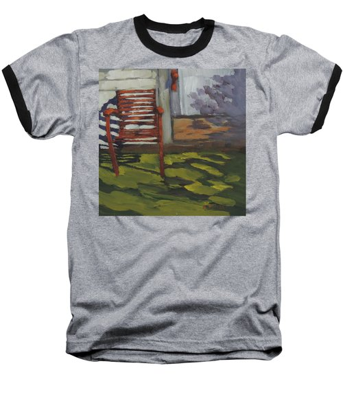 Seen Better Days - Art By Bill Tomsa Baseball T-Shirt