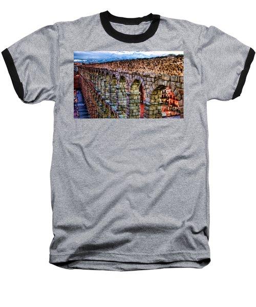 Segovia Aqueduct Spain By Diana Sainz Baseball T-Shirt