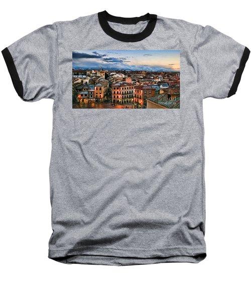 Segovia Nights In Spain By Diana Sainz Baseball T-Shirt