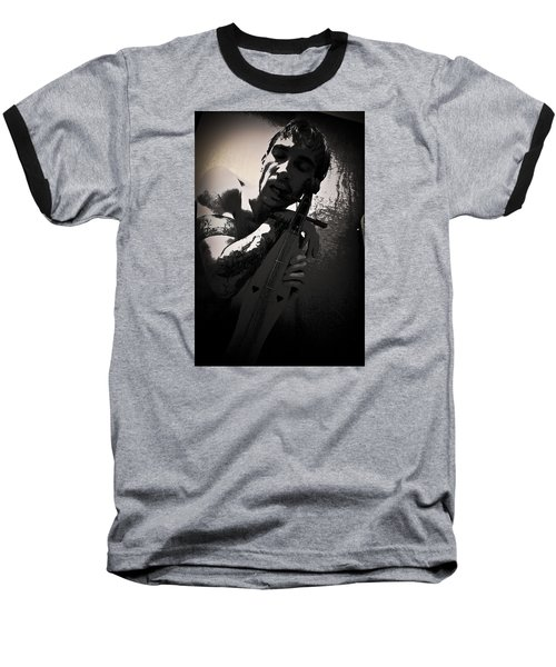 Baseball T-Shirt featuring the photograph Self by Joel Loftus